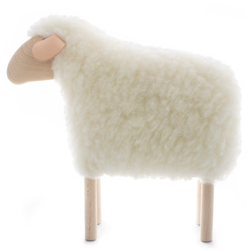 아기양(K)Little Lamb, white furmade in Germany
